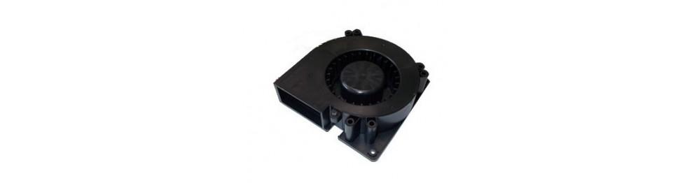 Ventilateur plaque